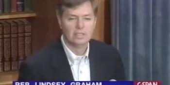 Please DON'T Remind 2019 Lindsey Graham About 1998 Lindsey Graham