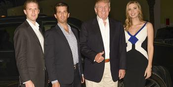Trump Kids Ordered To Mandatory Training So They Don't Bilk Charities Again