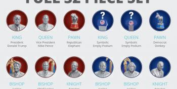 This Is A Real Thing:  The 2020 Election Chess Set