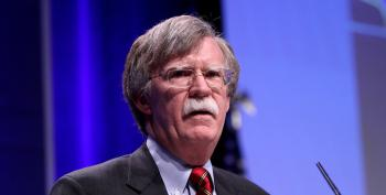 Trump Tapes Bolton's Mouth Shut With Executive Privilege