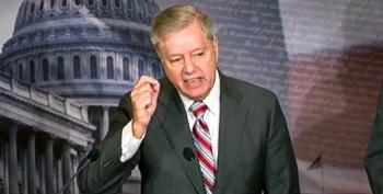 Lindsey Graham Stages Tantrum At Impeachment Presser: 'I'm Exposing Your Hatred!