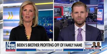 Eric Trump Lies That His Family Got 'Out Of Business' When His 'Father Became President'