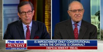 Fox Host Challenges Trump Attorney Dershowitz Over Flip-Flop On Impeachment