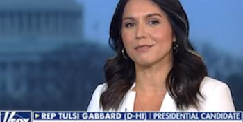 Tulsi Gabbard Should Practice What She Preaches Or Quit Fox News