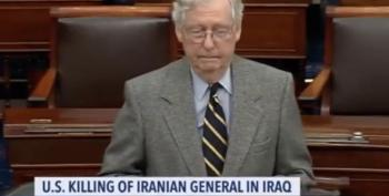 Mitch McConnell Warns Members Of Congress Not To Criticize Dear Leader On Iran