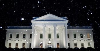 White House Tweets About Snow Only They Can See