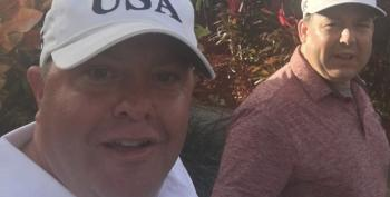 'Straight News' Anchor Ed Henry Seen Sporting Trump Hat With Robert Hyde