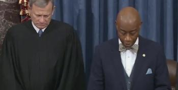 WATCH: Senate Chaplain Barry Black Casts Subtle Shade: 'We Always Reap What We Sow'