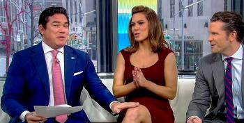 Dean Cain Pats Lisa Boothe's Knee While Co-hosting Fox & Friends