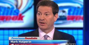 Stop To Shed A Tear For Poor Canceled Mark Halperin