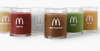 Midday Open Thread:  McDonalds To Release Burger-Scented Candles