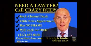 Rudy Says Romney Is A Soros Puppet Because Of Course