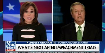 Lindsey Graham Promises To Haul All Of Trump's Political Enemies In Front Of His Committee