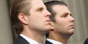 Don Jr. And Eric Trump Lead The Charge On Coordinated Republican Conspiracy Theory About Iowa