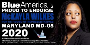 Blue America Endorses Mckayla Wilkes To Replace Steny Hoyer
