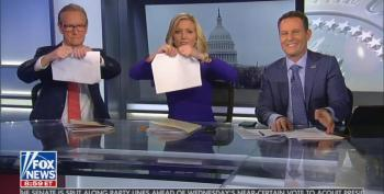 Nancy Won: Fox And Friends (and Trump) Focus On Paper Ripping, Not SOTU Speech
