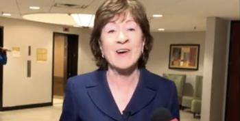 National Laughingstock Susan Collins 'Wishes' Witnesses Were Called