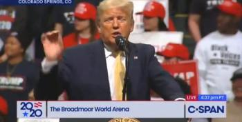 Unhinged Trump Rally Includes Attack On Fox News