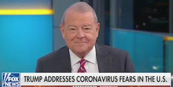 Stuart Varney Tantrum:  No Wall Money For Coronavirus!
