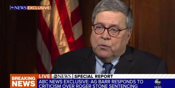 Federal Judge Says AG Barr Can't Be Trusted, Orders DOJ To Turn Over Unredacted Mueller Report