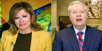 'Disgusting!' Lindsey Graham Blows A Gasket After Pelosi Accuses Trump Of Fiddling While People Die