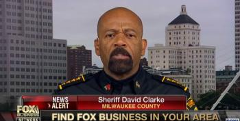 Sheriff Clarke Has 'Lost' His 'Mind' On Twitter