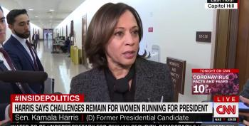 Sen. Kamala Harris Puts Misogyny On Blast After Sen. Warren Suspends Campaign