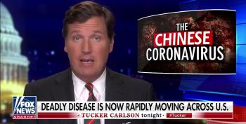 Tucker Carlson Instructs Trump On How To Demagogue The Coronavirus Correctly