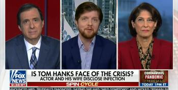 Fox Guest Praises Tom Hanks For His 'Public Service' After COVID-19 Disclosure