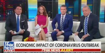 Fox & Friends Toadies To Trump At The Expense Of Viewers' Health