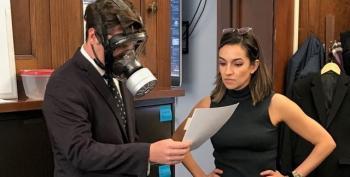 'A Tool': Twitter Mocks Matt Gaetz For Wearing A Gas Mask On The House Floor