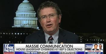 Rep. Massie Shrugs Off Stunt's COVID-19 Risk: Congress Has 'Pretty Good Healthcare'