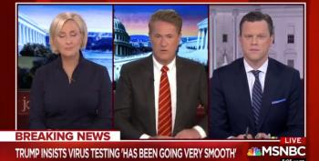 Morning Joe:  Even Hannity Knows White House Screwed Up On C-Virus Testing