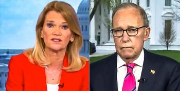 'Why Should People Trust You?' Martha Raddatz Slams Larry Kudlow For Claiming Virus Is 'Contained'