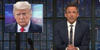 Seth Meyers Takes 'A Closer Look' At Trump's Pandemic Of Lies