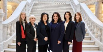 Every Female Utah Senator Walks Out In Protest Over Abortion Bill