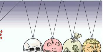 Cartoon: Coronavirus Physics