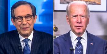 Joe Biden Mistakenly Calls Chris Wallace 'Chuck' After He's Asked About His Mental Capacity
