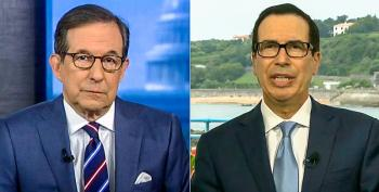 Steve Mnuchin Brags 'Businesses Are Booming' Because Of Panicked Consumers