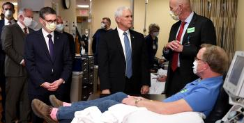 Pence Visited Mayo Clinic Without Mask, Violating Policy