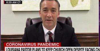 Louisiana Pastor Defies House Arrest, Holds Yet Another Church Service Amid Pandemic