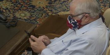 Michigan Lawmaker Denies Wearing Confederate Flag Mask, Calls It History, Then Apologizes