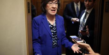 Susan Collins Praises Trump's Coronavirus Press Briefings