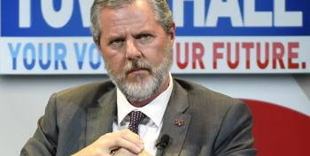 LOL Jerry Falwell Jr. Sues Liberty U. For 'Damaging His Reputation'