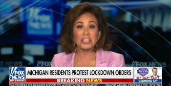 Jeanne Pirro 'Blesses' The Michigan COVIDiots