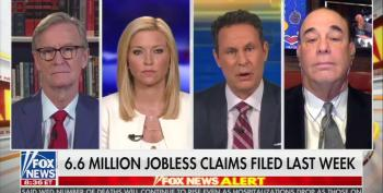 Brian Kilmeade Whines About Payroll Loans; 'People Don't Want Those Jobs Back'