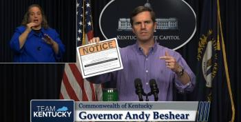 KY Wingnuts Rand Paul And Thomas Massie Blast Gov. Beshear For Easter Quarantine Plan
