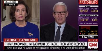 Pelosi Scorches McConnell's 'Admission' That Administration Cannot 'Handle The Job'