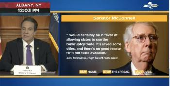 Gov. Andrew Cuomo Bulldozes Mitch McConnell For 'Dumb,' 'Vicious' State Bankruptcy Idea