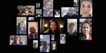 Nurses Speak Out In Powerful AFT Ad: 'We Are Doing Our Job. It's Time For The President To Do His'